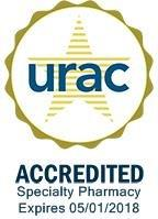 URAC Accredited Speciality Pharmacy